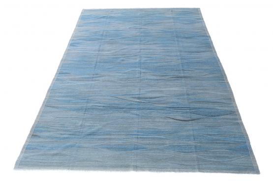 61710 Hand Knotted Modern Kilim 16'3
