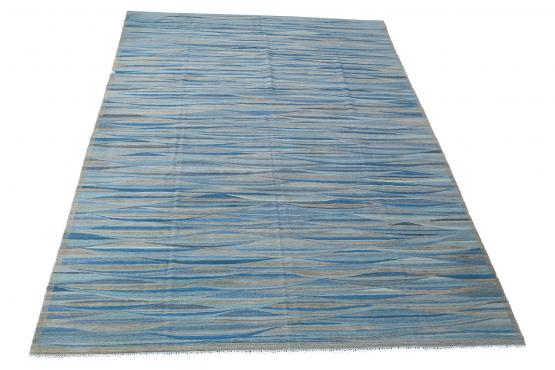61712 Hand Knotted Modern Kilim 14'x9'9