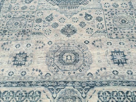 61790 Modern multi color rug 9'1
