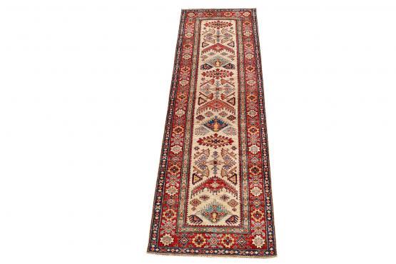 61895  Antique Wool Runner Rug - 2′11″ × 9′10″
