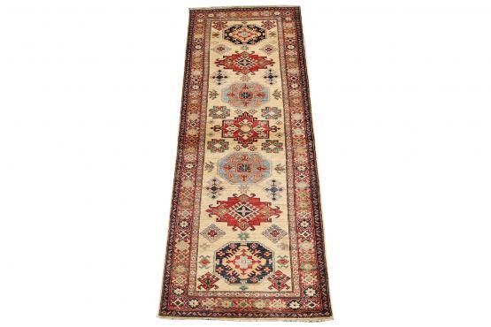 61905 Vintage Mid-Century Wool Hallway Runner Rug - 2′10″ × 8′2″