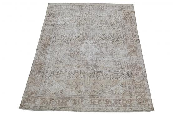 62085 Hand Knotted Persian Tabriz 6'6