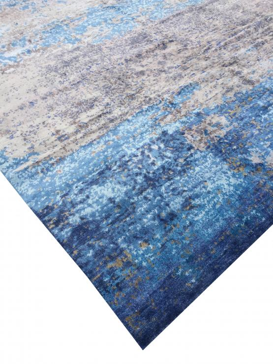 62249 Contemporary Blues rug 10'x14'