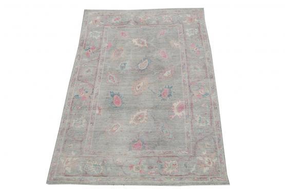 62390 Contemporary soft color rug 8'11