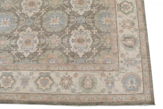 62393 Contemporary multi color rug 8'3