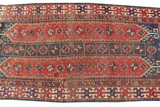 62419 Antique All Wool Runner - 9'11