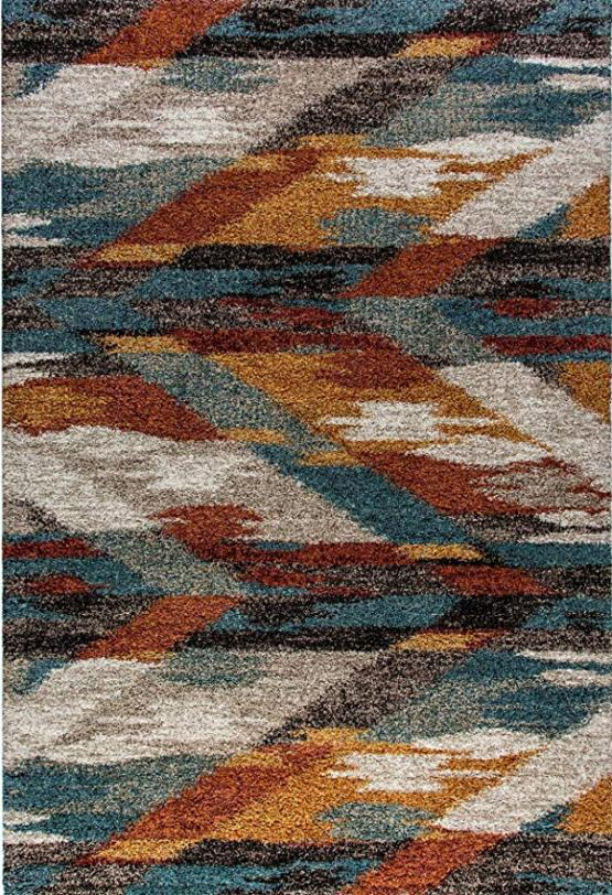 Dynamic Rugs Mehari Multi Color 5'3
