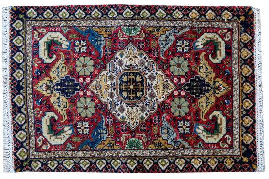 52293 Antique Tabriz Rug- 1'9