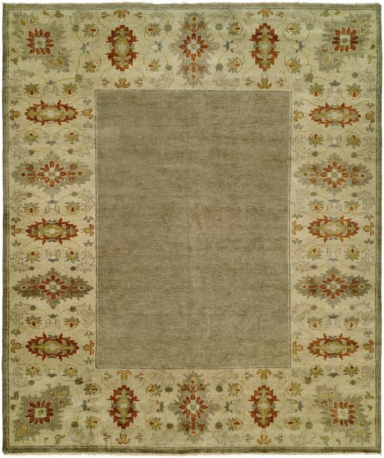 58490 Barcelona Hand Knotted BR-800 Taupe