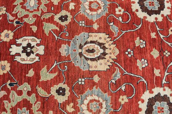 C60465 Hand-knotted wool 9'2
