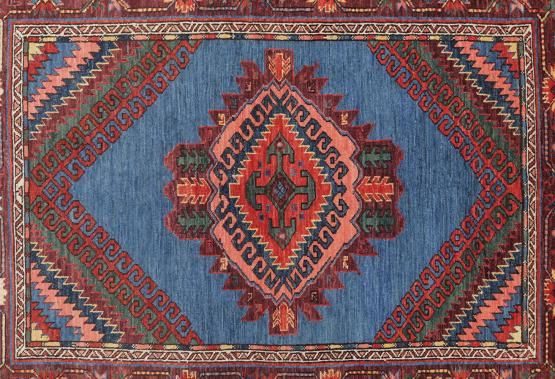 C60472 Multicolored Traditional Rug 5'8
