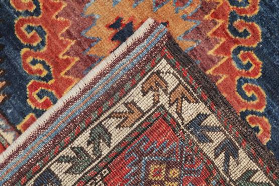C60475 Hand-Knotted Afghani Rug - 3