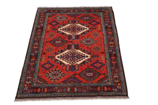 C60476 Wool Afgani carpet 5'7
