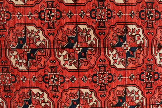 C60479 Turkman Carpet Wool 10'8