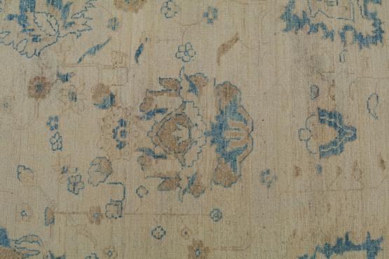 C60485 Peshavar carpet Oushak design 10'1