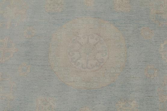 C60486 Hand-knotted Rug 9'1