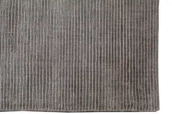 C60723 Modern Ribbed Bamboo Silk Rug 9'1