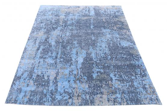C60759 Hand-knotted modern rug 14'x10'