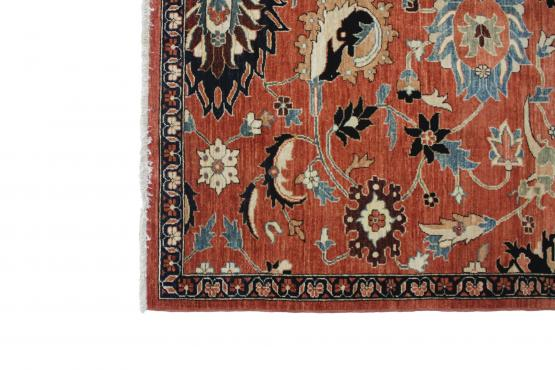 C61631 Traditional Pakistan Rug 9'6