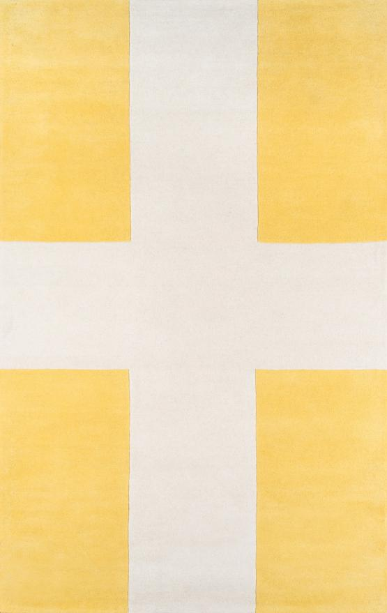 Del-07 Delmar Hand Tufted Rug Color Yellow