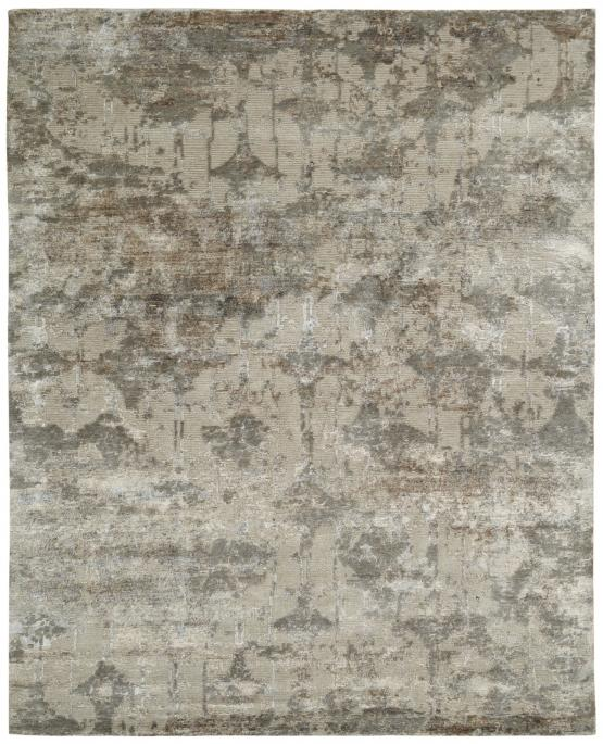 Elena RE-663 Earth Hand Knotted