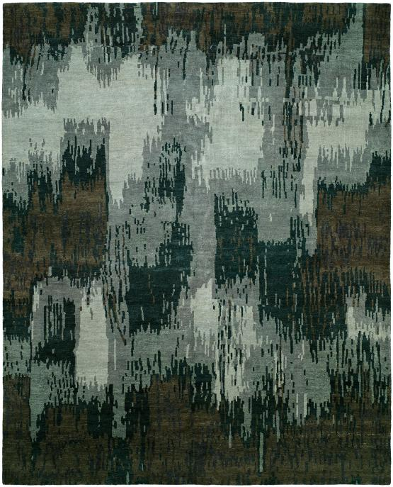 61667 Dynasty ND-306 Hand Knotted Brushstroke