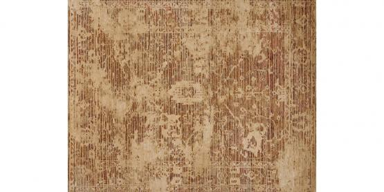 60791 Hand Knotted Sand/Spice -7'9