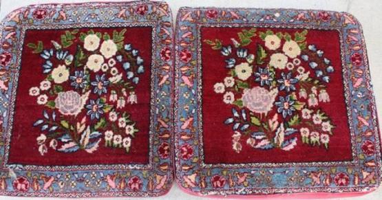 Antique Kerman Cushions 19.5