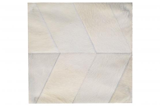 Custom Cowhide Herringbone Milk