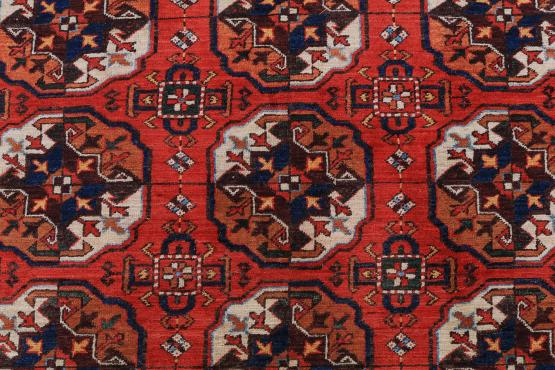 C60483 Wool Turkman carpet 10'3