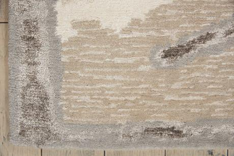 Christopher guy CGW16 Chemin Egg Shell/Misted Morning rug