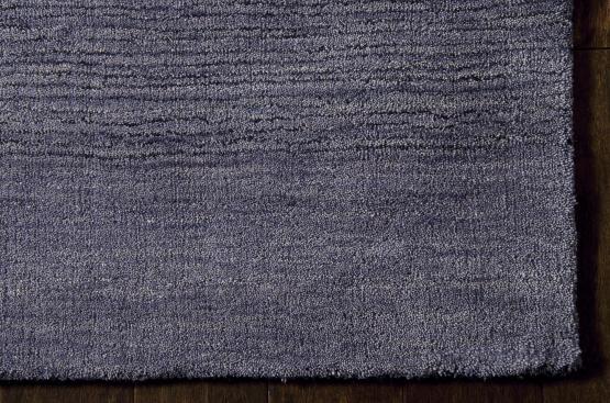 Hac01 Haze Ombre Handmade Rug Color Indigo