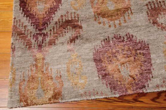 57599 Hand Knotted Shades Sample Clearance 5'6