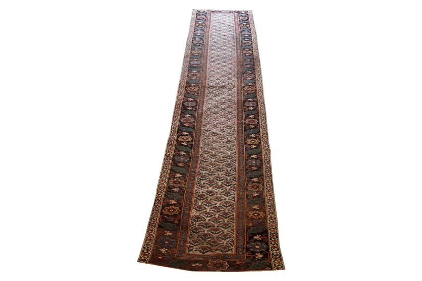 Multi Color Brown Runner 15'8