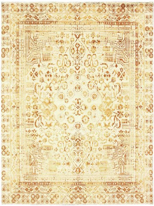 62577 Hand Knotted Traditional 8'x10'