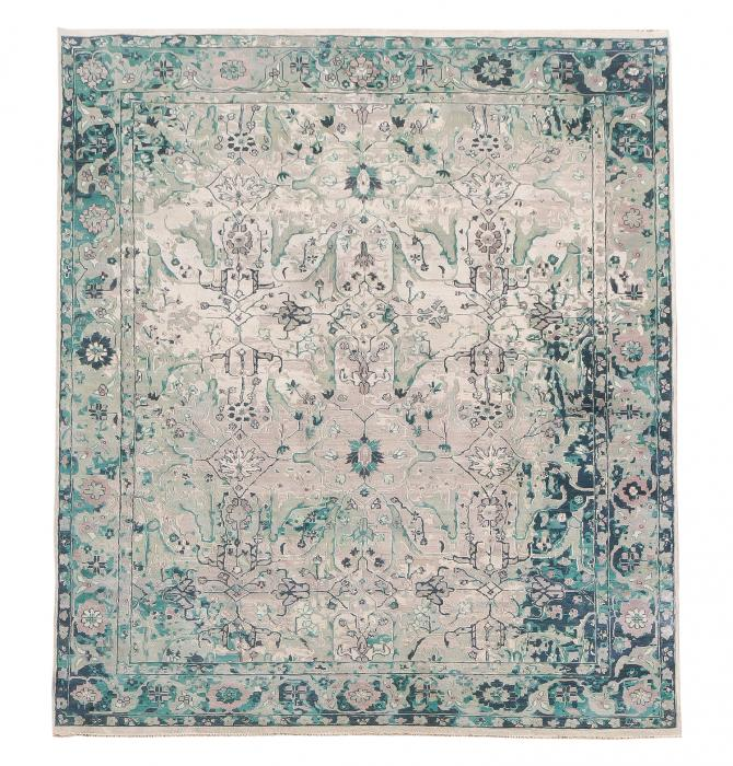 62578 Antique Sultan abad Design- 9'x12'3