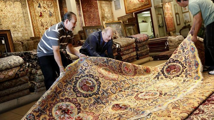 After Iran deal, imported Persian rugs reach L.A.